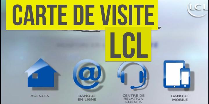 LCL Carte De Visite 2016